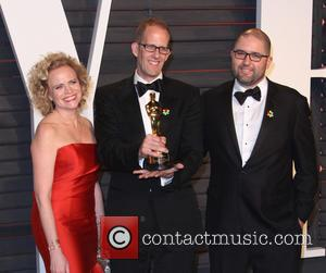 Meg Lefauve and Pete Docter