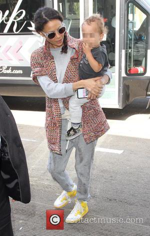 Thandie Newton and Booker Parker