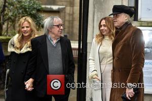 Bill Wyman, Suzanne Accosta, Bob Geldof and Jeanne Marine