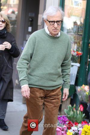 Woody Allen - Legendary actor and director Woody Allen films an unnamed project with long time friend and veteran actress...