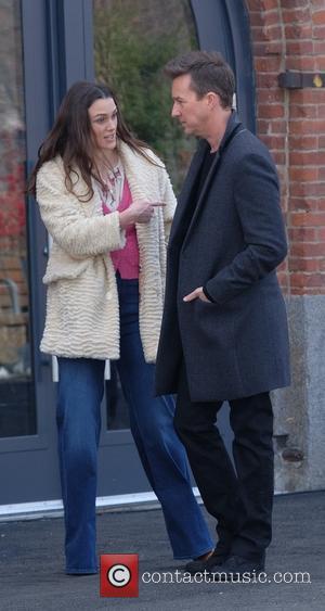 Keira Knightley and Ed Norton