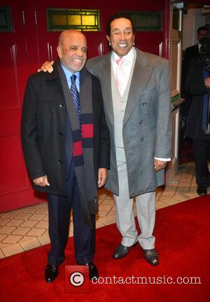 Smokey Robinson and Berry Gordy