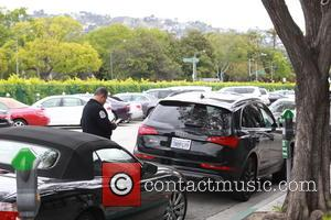 Atmosphere - Amy Adams spotted out shopping in Beverly Hills, driving an Audi that has two different license plates on...