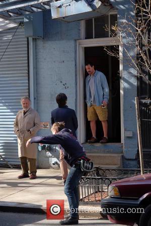 Adam Sandler and Dustin Hoffman
