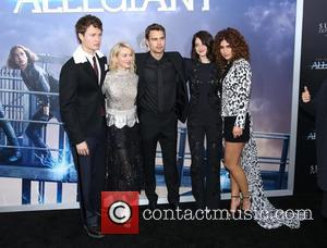 Ansel Elgort, Naomi Watts, Theo James , Shailene Woodley - New York premiere 'Allegiant' held at AMC Loews Lincoln Square...