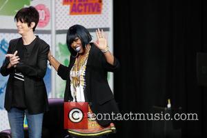 Missy Elliott and Diane Werner