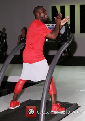 Kevin Hart - Nike+ live training and running experience with elite Nike athletes at Clarkson Square - New York, United...