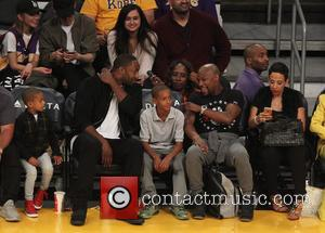 Floyd Mayweather Jr. and Gilbert Arenas