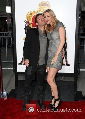 David Faustino and Lindsay Bronson