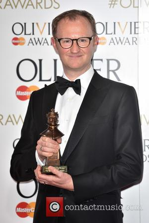 Mark Gatiss - The Olivier Awards held at the Royal Opera House - Press Room. - London, United Kingdom -...