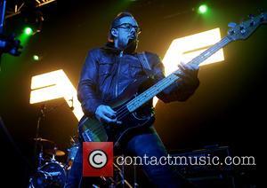 Weezer and Scott Shriner