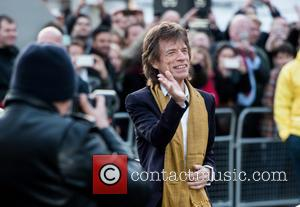 Rolling Stones , Mick Jagger - Opening Night Gala of Rolling Stone's 'Exhibitionism' at the Saatchi Gallery. - London, United...