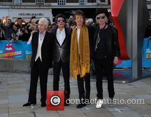 Rolling Stones - Rolling Stones Exhibitionism arrivals at The Saatchi Gallery in London - London, United Kingdom - Monday 4th...