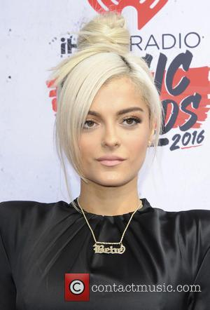 Bebe Rexha - The !Heart Radio Music Awards 2016 Arrivals - Los Angeles, California, United States - Monday 4th April...