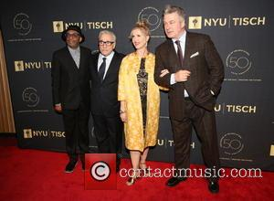 Spike Lee, Martin Scorsese, Allyson Green and Alec Baldwin