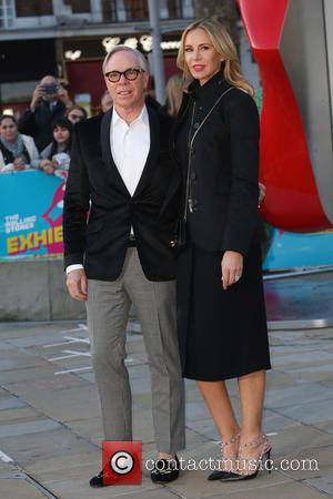 Dee Ocleppo and Tommy Hilfiger