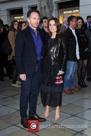 Christian Horner and Geri Horner