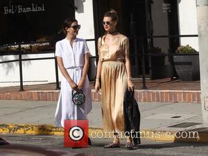 Lily Aldridge and Behati Prinsloo