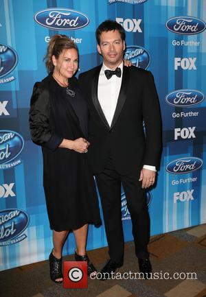 Jill Goodacre, Harry Connick and Jr.