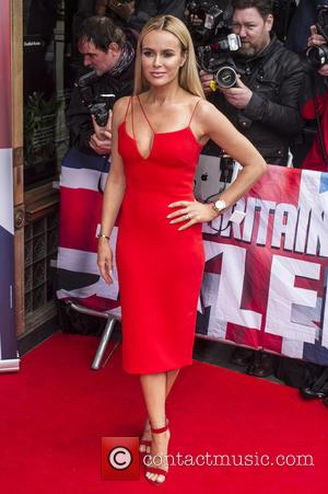 Amanda Holden - Judges attend the red carpet arrivals for Britain's Got Talent at the Regent Street Cinema in London....