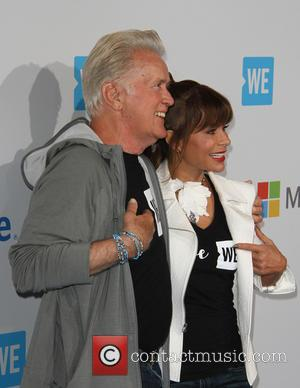 Martin Sheen and Paula Abdul