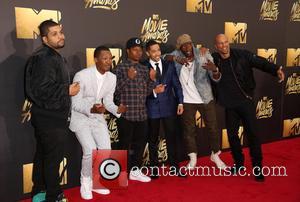 O'shea Jackson Jr., Corey Hawkins, Jason Mitchell, Neil Brown Jr., Aldis Hodge and Common