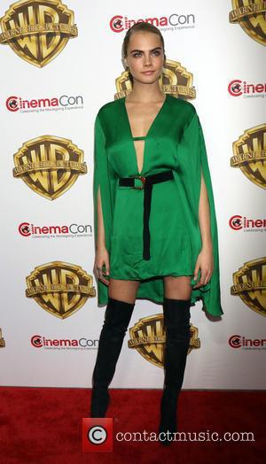 Cara Delevingne - Warner Bros. Presents