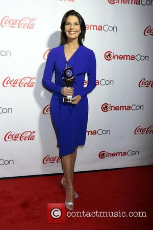 Sela Ward - CinemaCon Bi Screen Achievement Awards held at Caesars Palace Hotel & Casino in Las Vegas, Nv on...