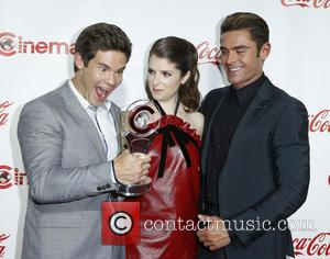 Adam Devine, Anna Kendrick and Zac Efron