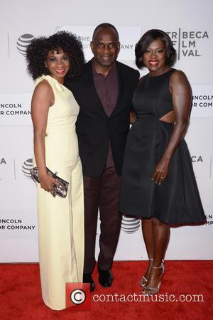 Elisa Perry, Julius Tennon and Viola Davis