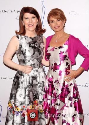 Kate Flannery and Roma Downey