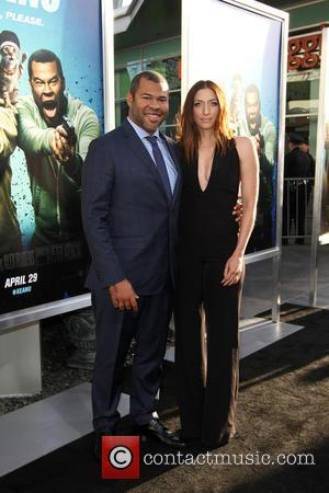 Jordan Peele and Chelsea Peretti