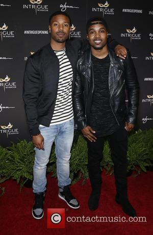 Michael B. Jordan and Steelo Brim