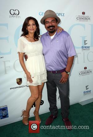 Constance Marie and George Lopez