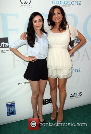 Aimee Garcia and Constance Marie