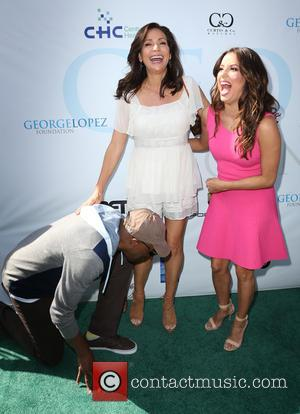 Arsenio Hall, Constance Marie and Eva Longoria