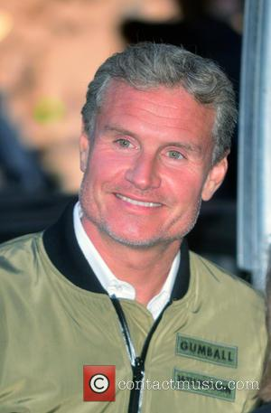 Gumball and David Coulthard