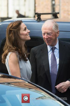 Duchess of Cambridge, Kate Middleton , Jacob Rothschild - The Duchess of Cambridge attends a charity lunch for the Anna...