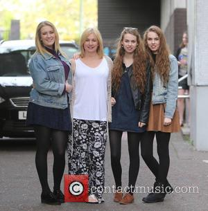 Helen Garnett, Abi Garnett, Anna Garnett and Rachel Garnett