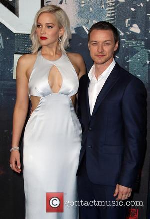 Jennifer Lawrence and James Mcavoy