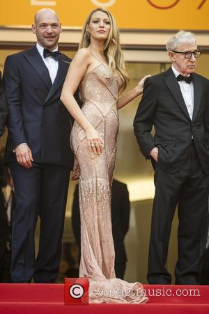 Corey Stoll, Blake Lively and Woody Allen