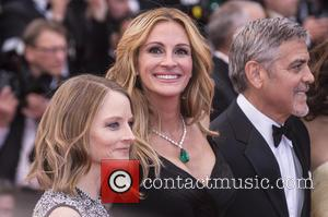 Jodie Foster, Julia Roberts and George Clooney