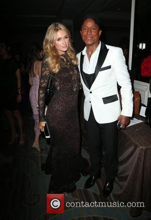 Paris Hilton and Jermaine Jackson