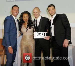 Craig Revel Horwood, Melanie B, Evan Davis and Duncan James
