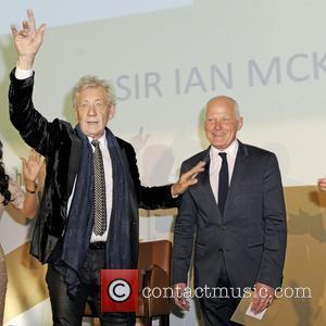 Michael Cashman and Ian Mckellen
