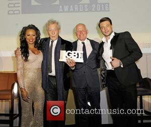 Melanie B, Ian Mckellen, Michael Cashman and Duncan James