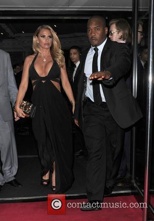 Katie Price - Katie Price departs The Groucho Club in Soho with a male companion at The Groucho - London,...