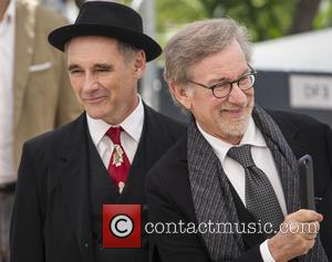 Mark Rylance and Steven Spielberg