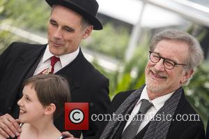 Mark Rylance, Ruby Barnhill and Steven Spielberg