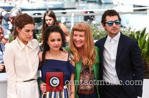 Riley Keogh, Sasha Lane, Andrea Arnold and Shia Labeouf